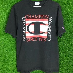Champion T Shirt Big Gucci Theme Logo Type